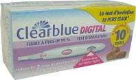 CLEARBLUE TEST D'OVULATION BOITE DE 10