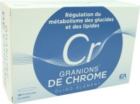 GRANIONS DE CHROME OLIGO-ELEMENT 30 AMPOULES