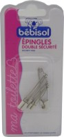BEBISOL EPINGLES DOUBLE SECURITE *6