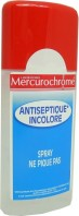 MERCUROCHROME SPRAY ANTISEPTIQUE INCOLORE NE PIQUE PAS