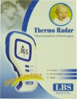 "THERMOMETRE RADAR FRONTAL SANS CONTACT ""CHOISI PAR PARENTS"""