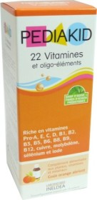 PEDIAKID SIROP 22 VITAMINES 125ML