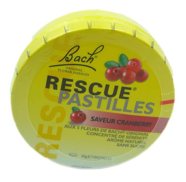 Rescue Pastille Saveur Cranberry 50g