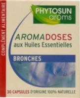 PHYTOSUN AROMS AROMADOSES BRONCHES 30 CAPSULES