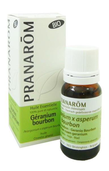 pranarom huile essentielle bio geranium bourbon 10ml