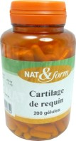 CARTILAGE DE REQUIN 120 GELULES