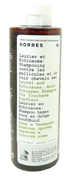 korres shampooing antipelliculaire cheveux secs 250ml. Black Bedroom Furniture Sets. Home Design Ideas