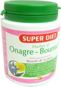 SUPER DIET ONAGRE BOURRACHE 200 GELULES