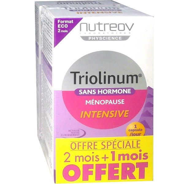 NUTREOV TRIOLINUM SANS HORMONE MENOPAUSE INTENSIVE 84CAPSULES