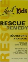 FLEURS DE BACH RESCUE REMEDY KIDS RECONFORTE ET RASSURE 10ML