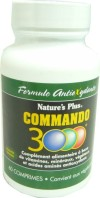 NATURE'S PLUS COMMANDO 3000 60 COMPRIMES