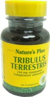 NATURE'S PLUS TRIBULUS TERRESTRIS 60 COMPRIMES