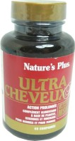 NATURE'S PLUS ULTRA CHEVEUX PLUS 60 COMPRIMES