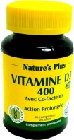 NATURE'S PLUS VITAMINE D3 400 CO-FACTEURS 90COMP