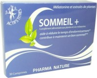 PHARMA NATURE SOMMEIL + 30 COMPRIMES
