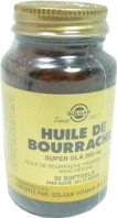 SOLGAR HUILE DE BOURRACHE 30 SOFTGELS