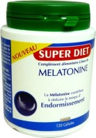 SUPER DIET MELATONINE 120 GELULES