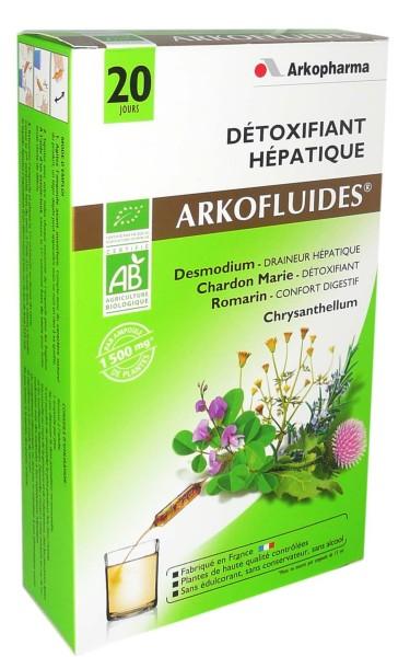 detox hepatique arkopharma