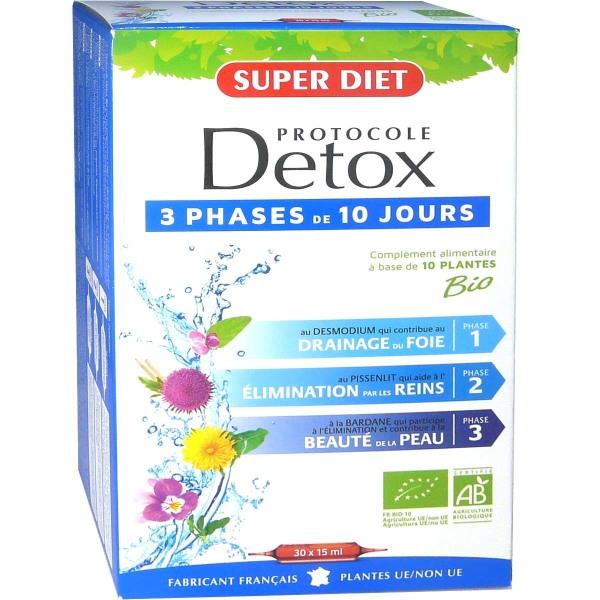 SUPER DIET PROTOCOLE DETOX x30 AMPOULES