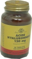ACIDE HYALURONIQUE 120MG SOLGAR 30 CP