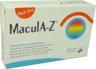 MACULA-Z COMPLEXE ANTIOXYDANT A VISEE OCULAIRE 120 CP ECO