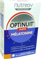 NUTREOV OPTINUIT FLASH MELATONINE 30 COMPRIMES