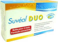 SUVEAL DUO COMPLEMENT ALIMENTAIRE VISEE OCULAIRE
