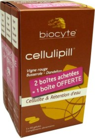 BIOCYTE CELLULIPILL 2 BOITES + 1 OFFERTE
