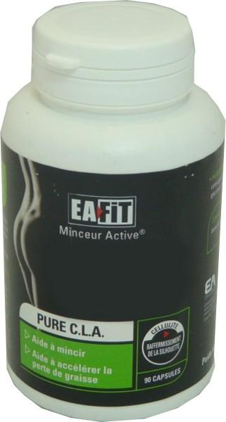Eafit Pure CLA-Minceur Active Lot de 2 x 90 Capsules