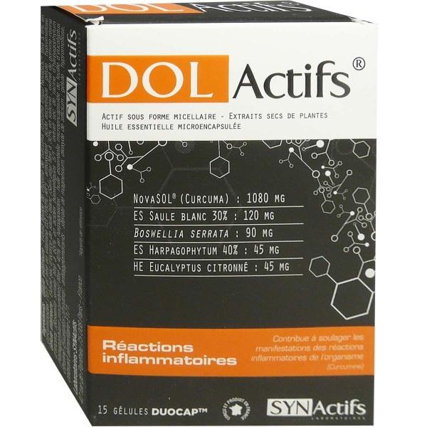 Synactifs Dolactifs Reactions Inflammatoires 15 Gelules