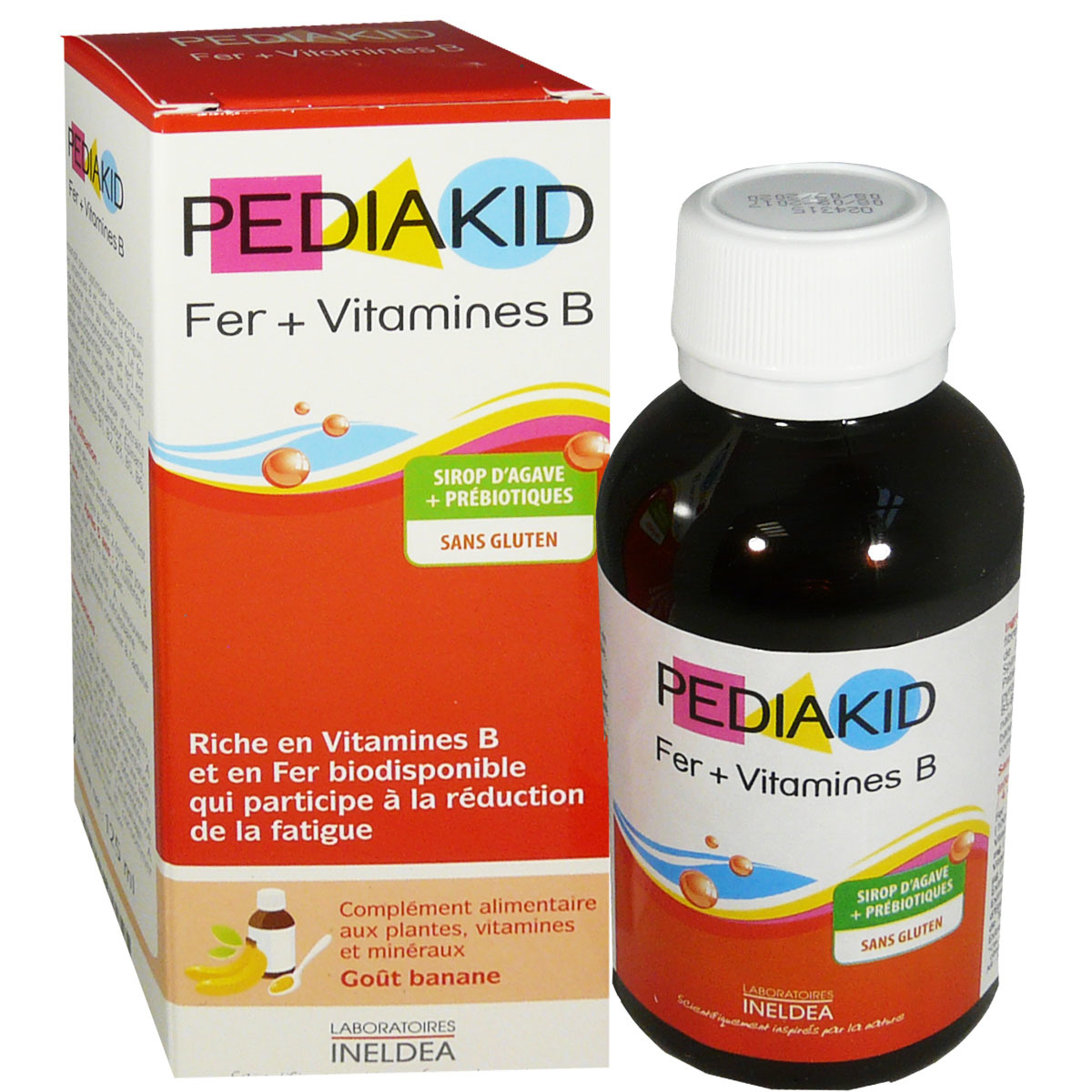 Le sirop Fer vitamine B PEDIAKID discount inspiré par