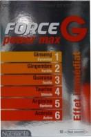 FORCE G POWER MAX 10 AMPOULES