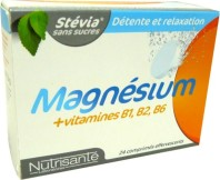 NUTRISANTE MAGNESIUM + VITAMINES 24 COMPS EFFERVESCENTS