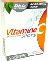 NUTRISANTE VITAMINE C 500MG 24 COMPS EFFERVESCENTS