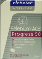 SELENIUM-ACE PROGRESS OPTIMUM 50 ANTI-AGE 90 COMPRIMES + 30 OFFERTS