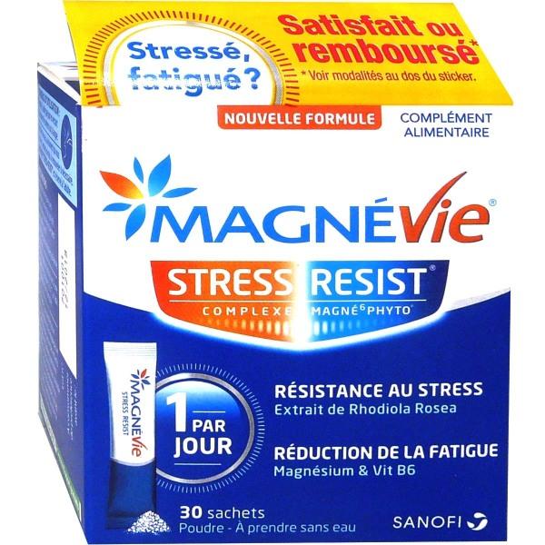 magne vie stress resist 30 sachets. Black Bedroom Furniture Sets. Home Design Ideas
