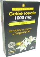 OLIGOROYAL GELEE ROYALE 1000MG PROPOLIS 20 AMPOULES
