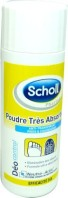 SCHOLL POUDRE TRES ABSORBANTE 24H 75G