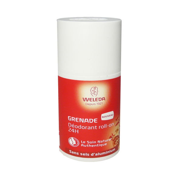 weleda deodorant 24 h roll on grenade 50 ml. Black Bedroom Furniture Sets. Home Design Ideas