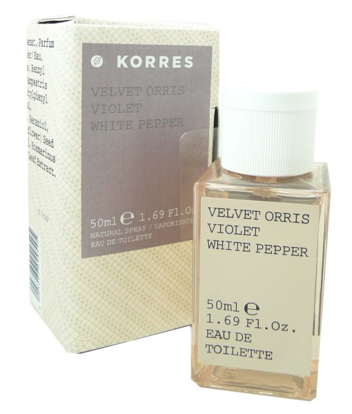 korres eau de toilette iris violette 50ml. Black Bedroom Furniture Sets. Home Design Ideas