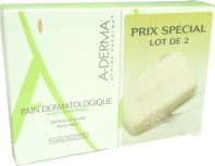 A-DERMA PAIN DERMATOLOGIQUE LOT DE 2