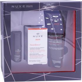 Nuxe men coffret gel douche 200 ml fluide anti age 50 ml contour des yeux 15 ml - Coffret gel douche homme ...