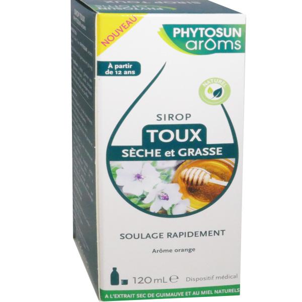 phytosunaroms sirop toux seche et grasse arome orange 120 ml. Black Bedroom Furniture Sets. Home Design Ideas