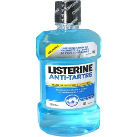 listerine anti tartre bain de bouche quotidien 500ml. Black Bedroom Furniture Sets. Home Design Ideas