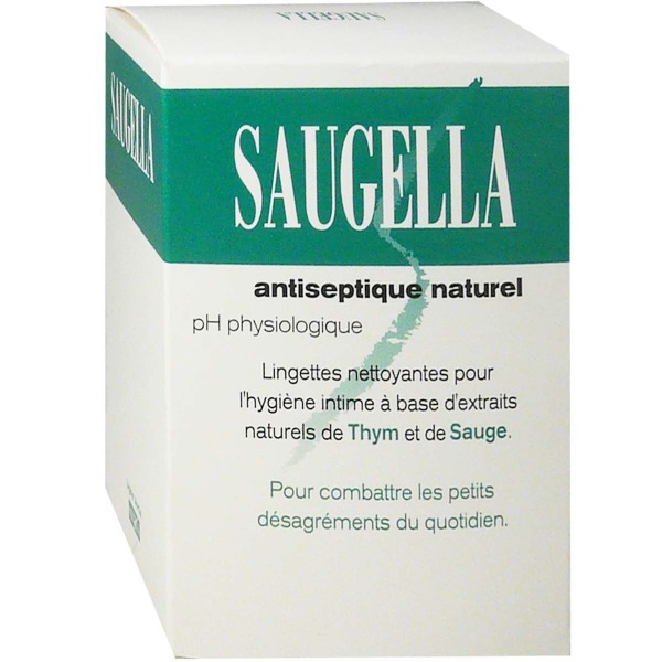 saugella antispetique naturel lingettes nettoyantes pour l 39 hygiene intime 10 lingettes. Black Bedroom Furniture Sets. Home Design Ideas
