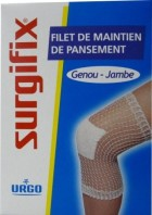 FILET DE MAINTIEN DE PANSEMENT SURGIFIX GENOU JAMBE