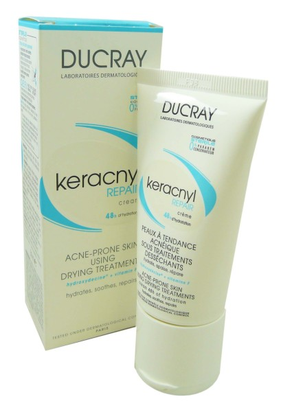 ducray keracnyl repair peaux a tendance acneique 50ml. Black Bedroom Furniture Sets. Home Design Ideas