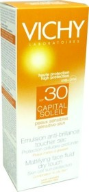 VICHY CAPITAL SOLEIL EMULSION ANTI-BRILLANCE 30SPF 50ML