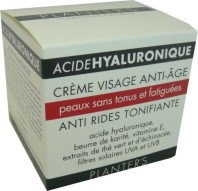 PLANTER'S ACIDE HYALURONIQUE CREME VISAGE ANTI-AGE PEAUX SANS TONUS 50 ML