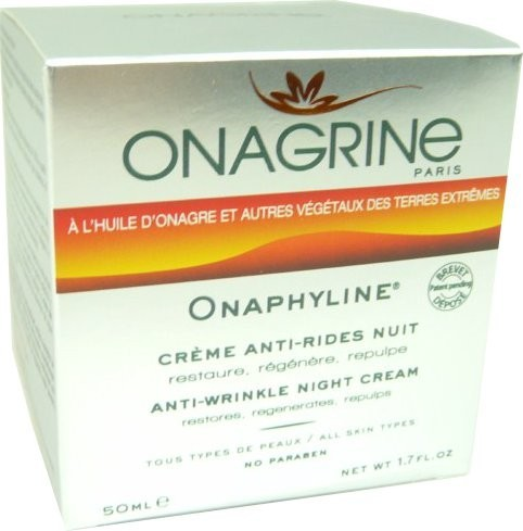 onagrine onaphyline creme anti rides nuit 50ml. Black Bedroom Furniture Sets. Home Design Ideas